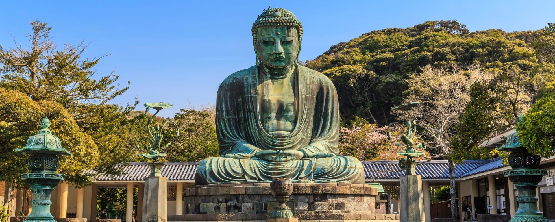 Japan entdecken mit Tischler Reisen: Japan Kamakura Grosser Buddha