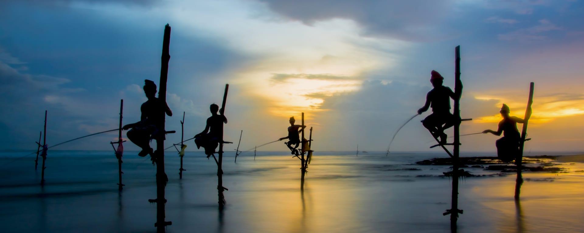 Sri Lanka entdecken mit Tischler Reisen: Sri Lanka Fischer Suedkueste