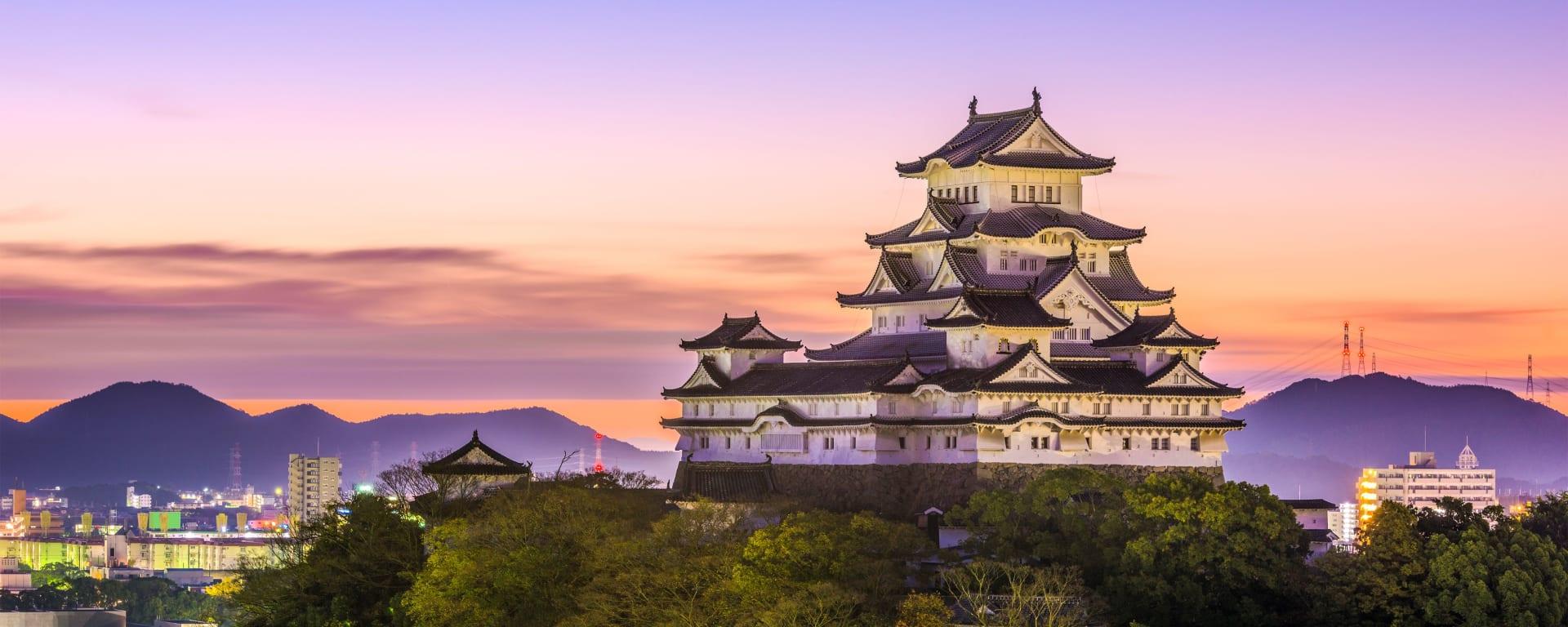 Japan entdecken mit Tischler Reisen: Japan Himeji Burg