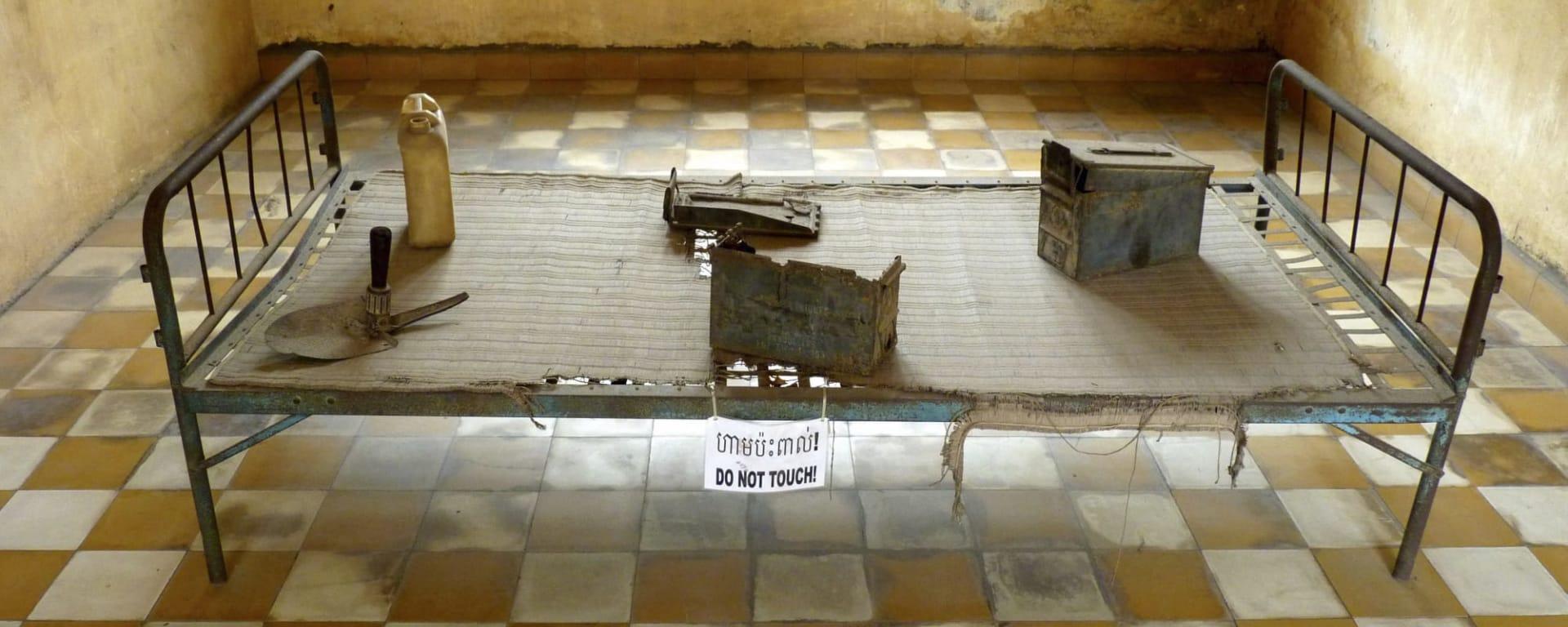 Tuol Sleng und Killing Fields, De, Halbtägig in Phnom Penh: Kambodscha Phnom Penh Toul Sleng Gefaengnis