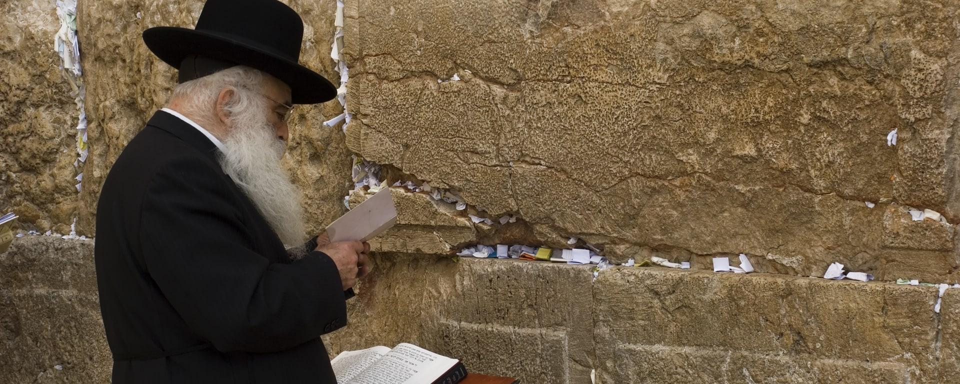 Israel entdecken mit Tischler Reisen: Israel Jerusalem Klagemauer