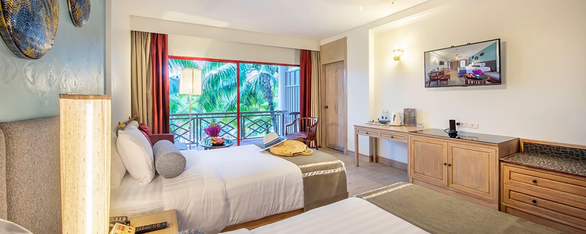 Cha Da Thai Village Resort in Krabi: Krabi Cha Da Thai Village Resort Deluxe Zimmer