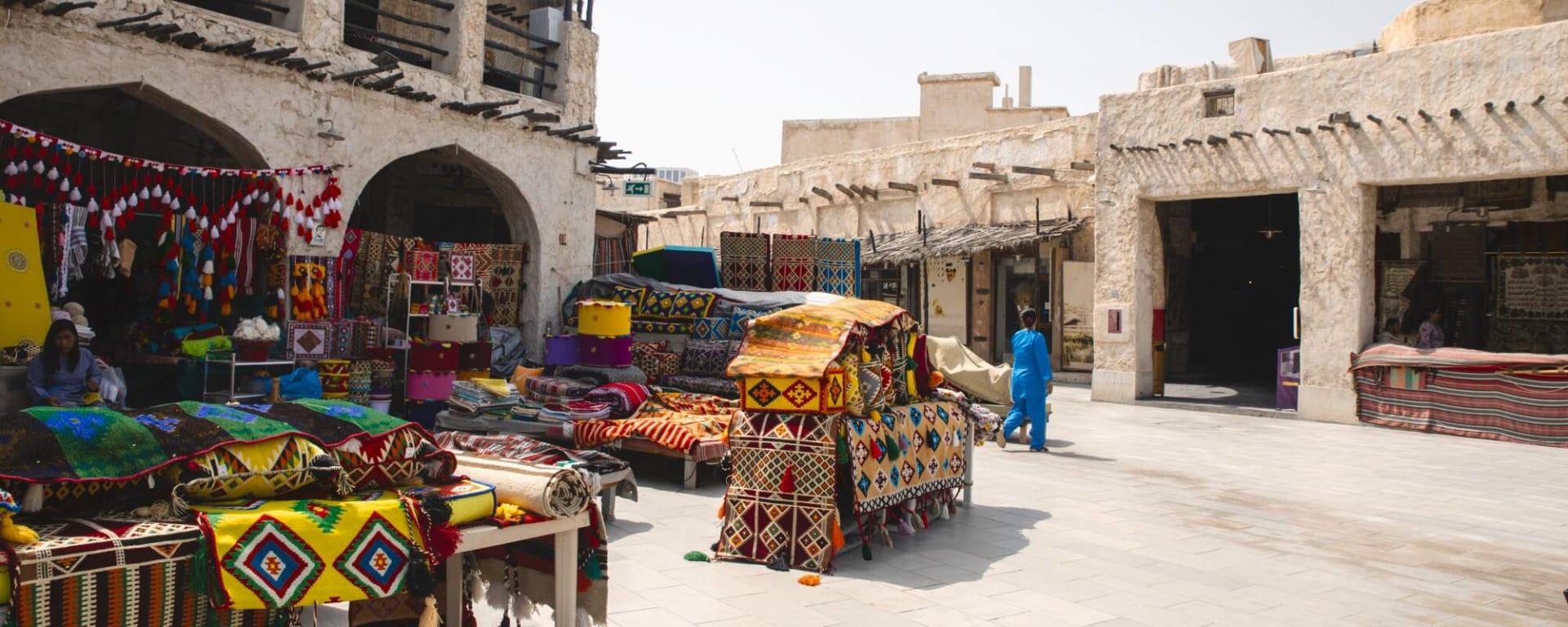 Qatar entdecken mit Tischler Reisen: Qatar Doha Souk Waqif