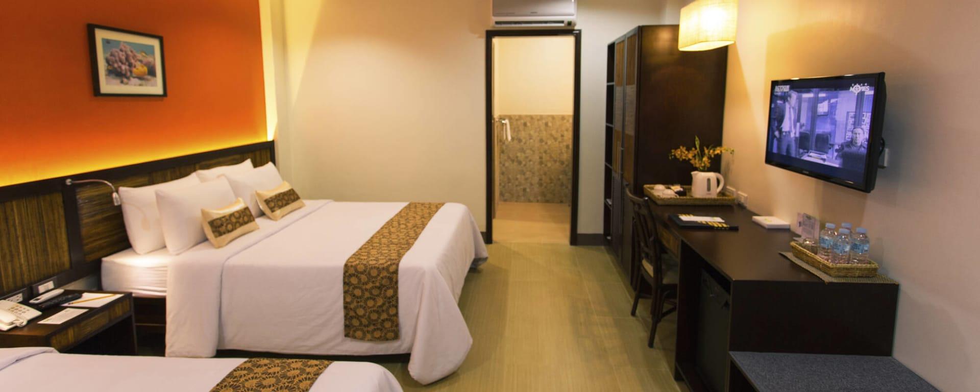 Bohol Beach Club: Bohol Beach Club Deluxe Zimmer