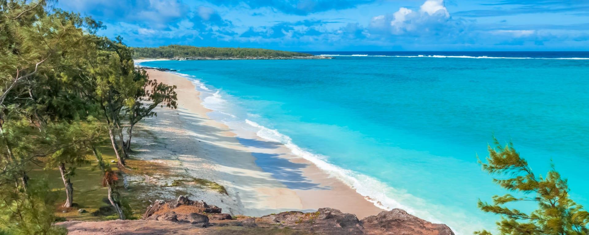 Rodrigues entdecken mit Tischler Reisen: Rodrigues Strand Anse Ali