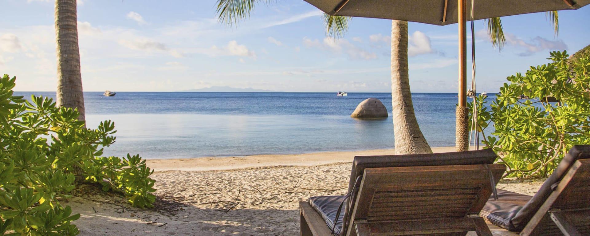 The Haad Tien Beach Resort in Ko Tao: Thailand The Haadtien Beach Resort Strand