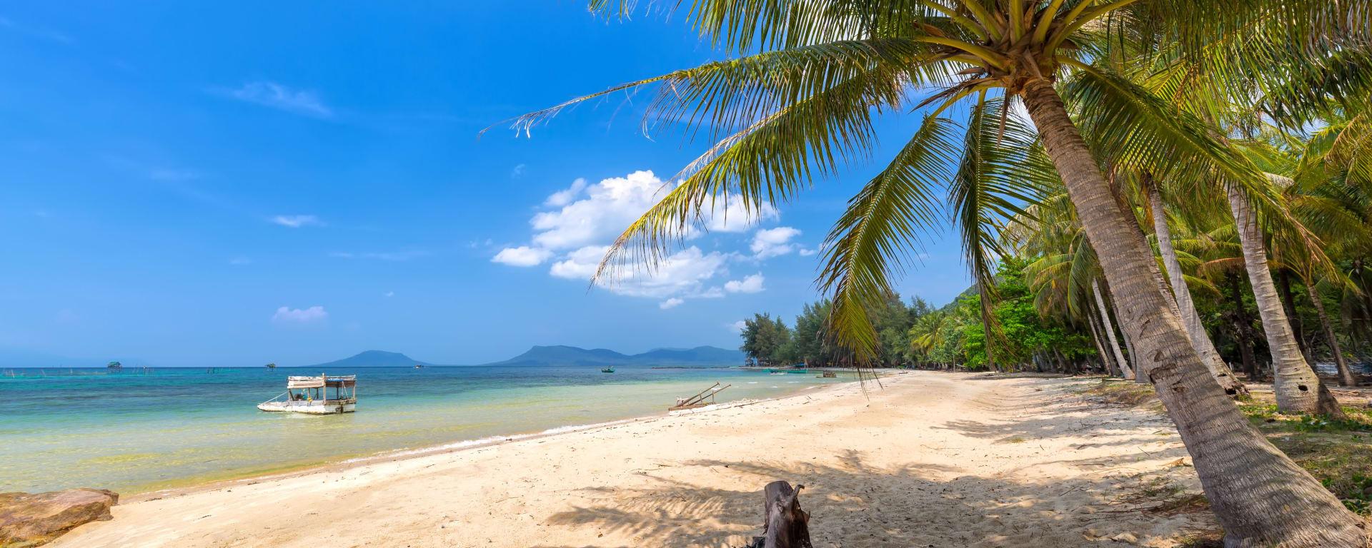 Vietnam entdecken mit Tischler Reisen: Vietnam Phu Quoc Strand