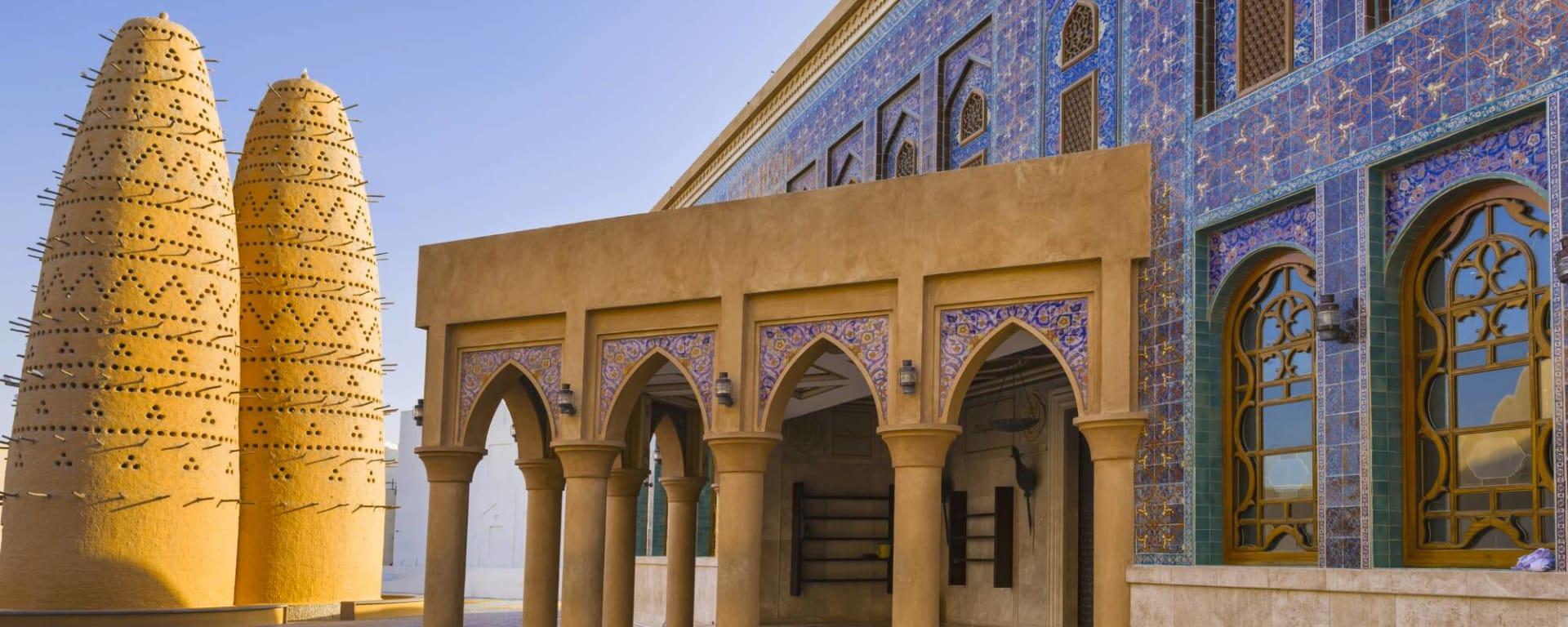 Qatar entdecken mit Tischler Reisen: Qatar Doha Katara Heritage Village