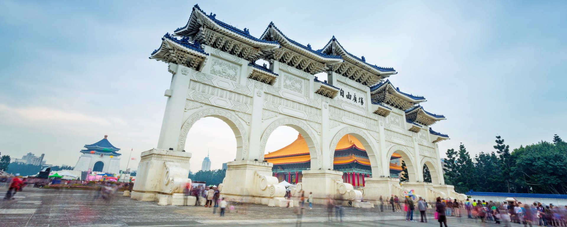 Taiwan entdecken mit Tischler Reisen: Taiwan Taipei Democracy Memorial Hall