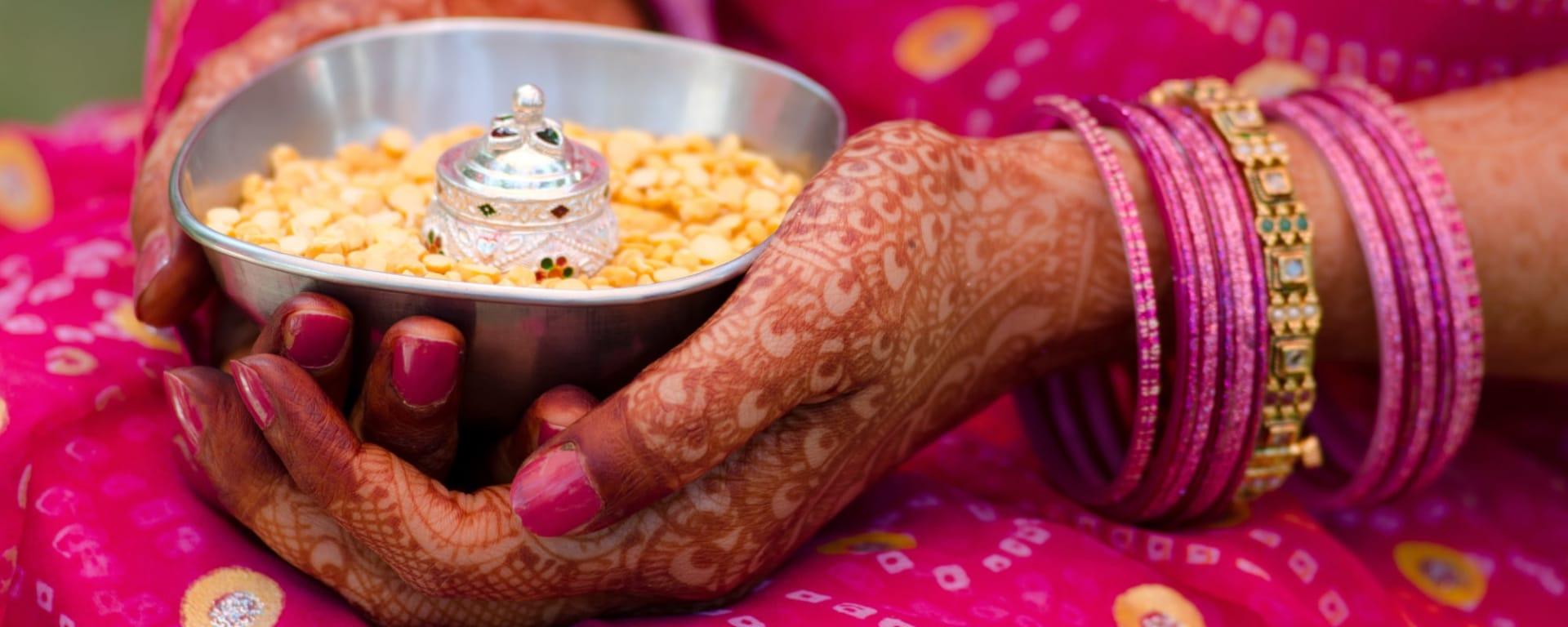 Indien entdecken mit Tischler Reisen: Indien Henna Hochzeit