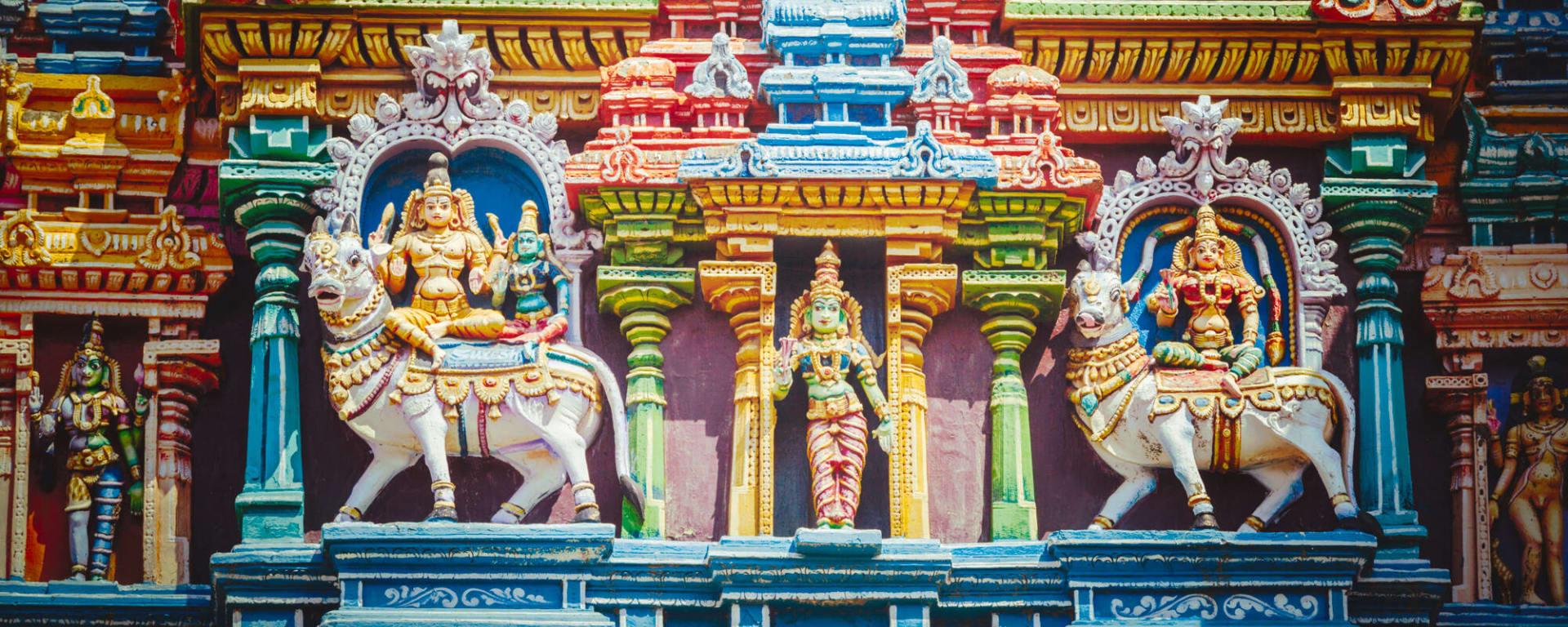 Indien entdecken mit Tischler Reisen: Indien Madurai Menkshi Tempel