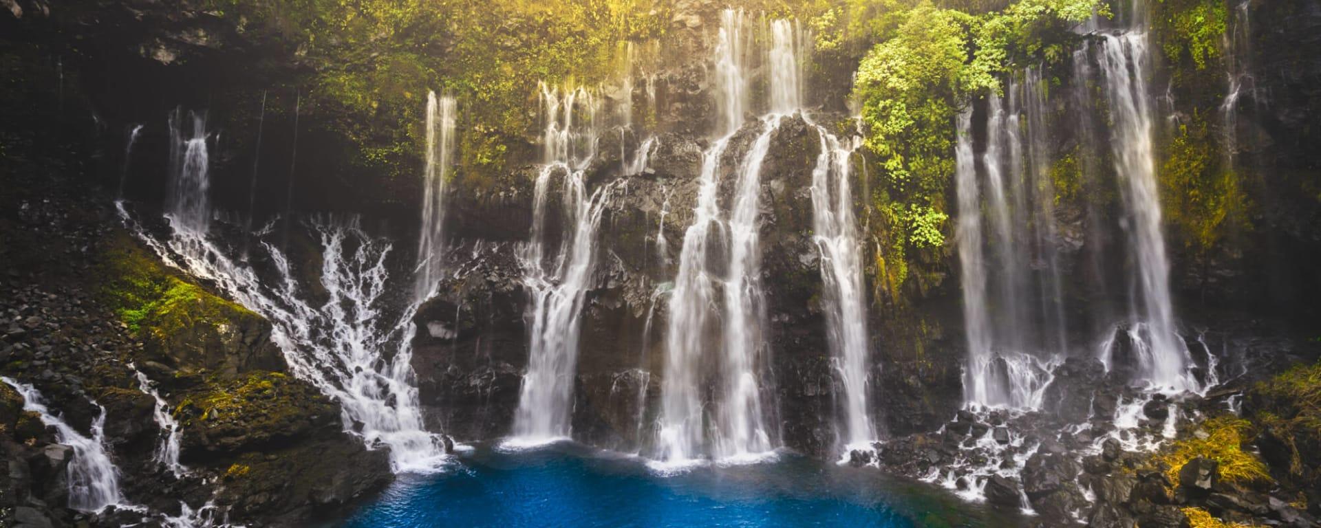 Réunion entdecken mit Tischler Reisen: Reunion Wasserfall Grand Galet