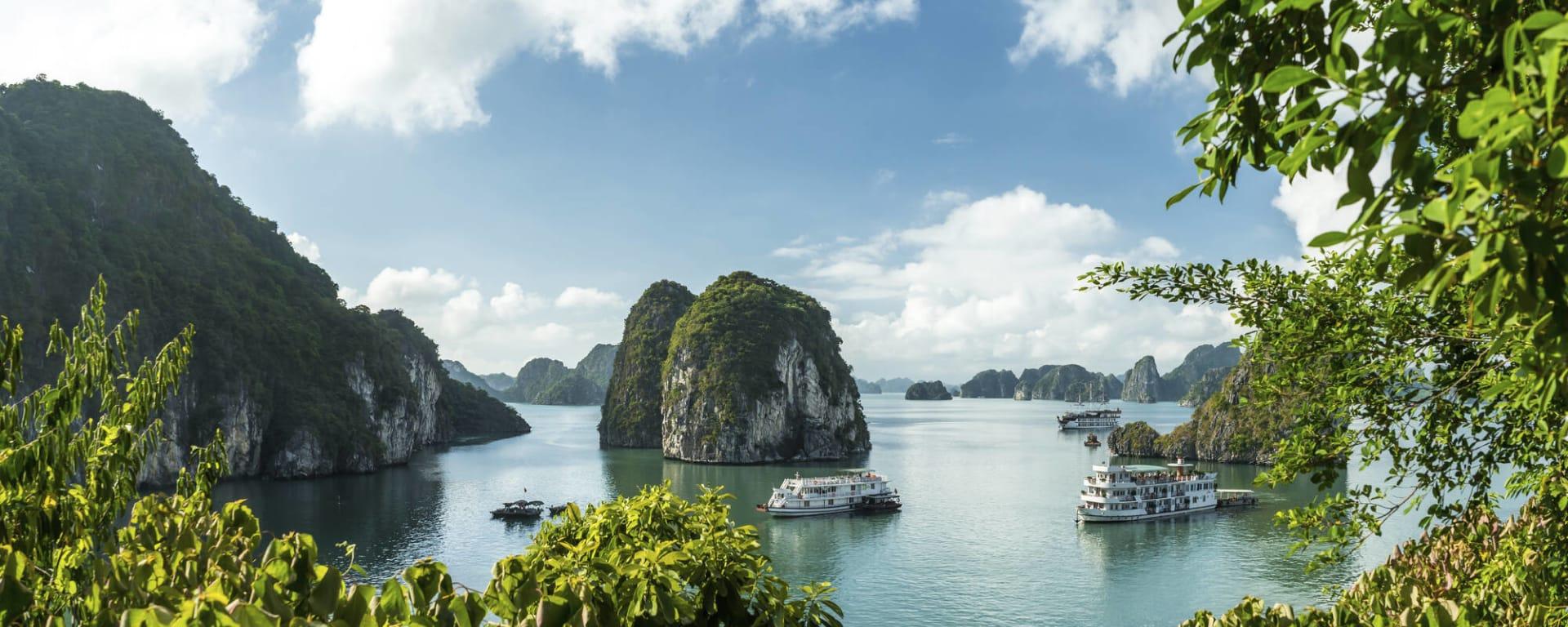 Höhepunkte Vietnams ab Hanoi: Vietnam Halong Bucht
