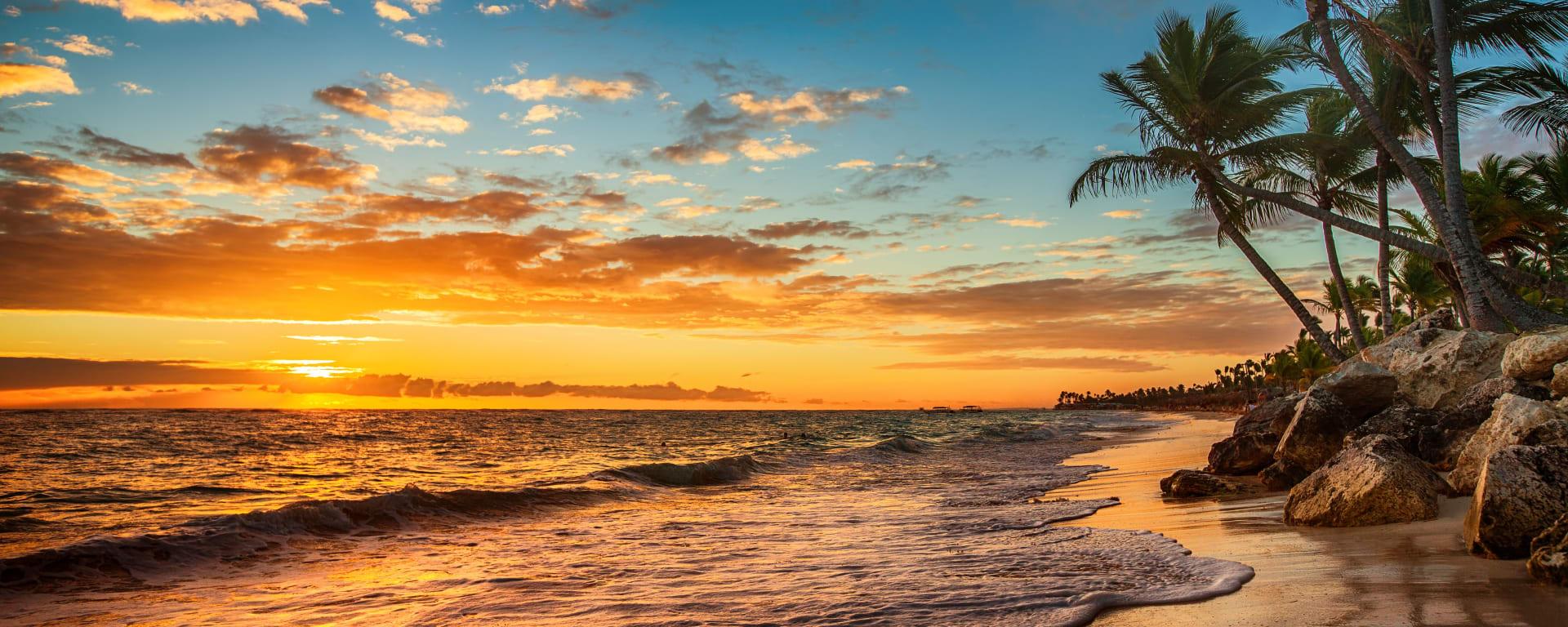 Seychellen entdecken mit Tischler Reisen: Seychellen Sonnenuntergang