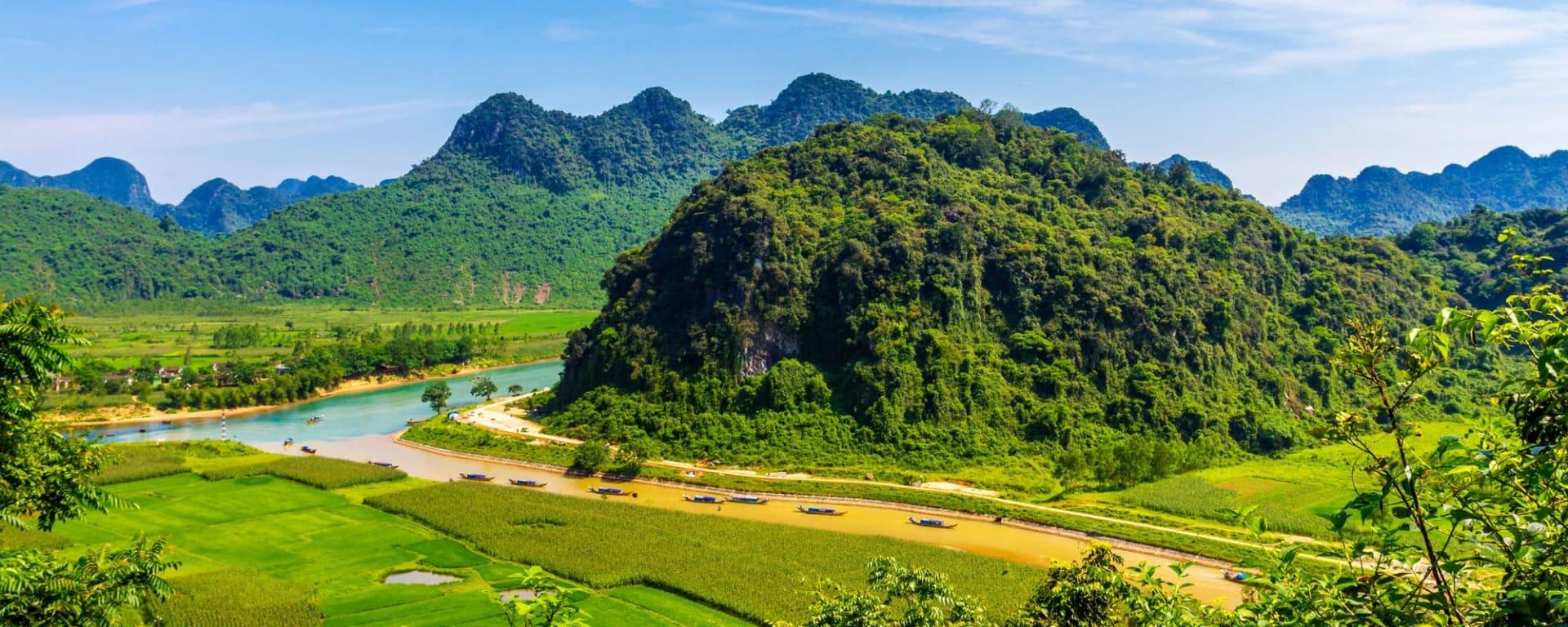 Vietnam Individuell mit dem Zug ab Hanoi: Vietnam Phong Nha Ke Bang Nationalpark