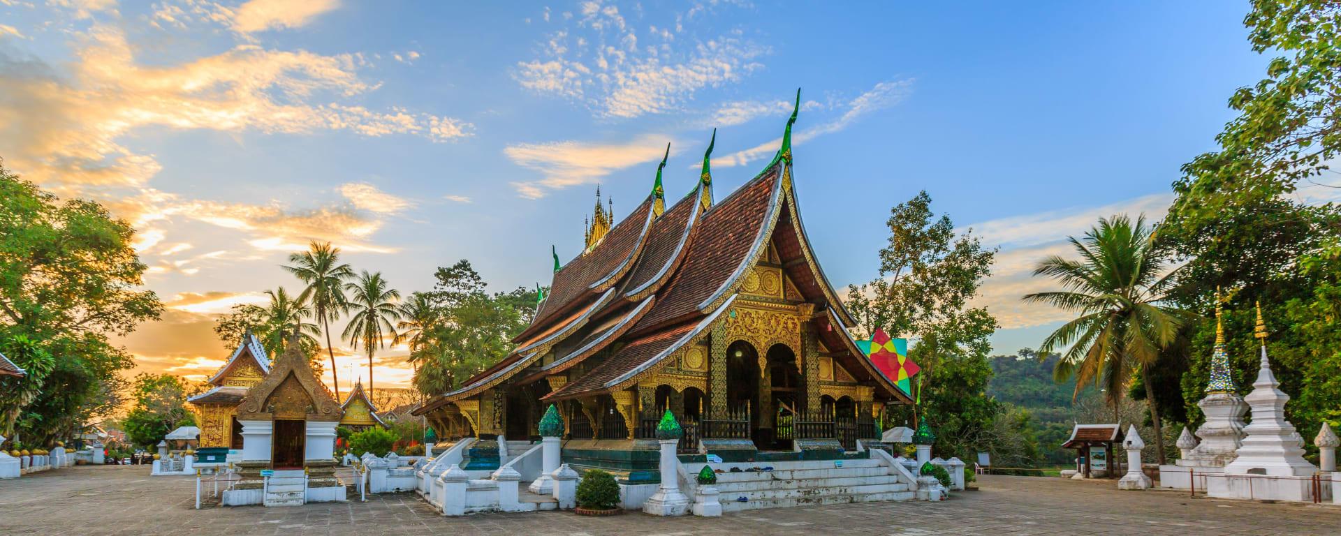 Laos entdecken mit Tischler Reisen: Laos Luang Prabang Wat Xieng Thong