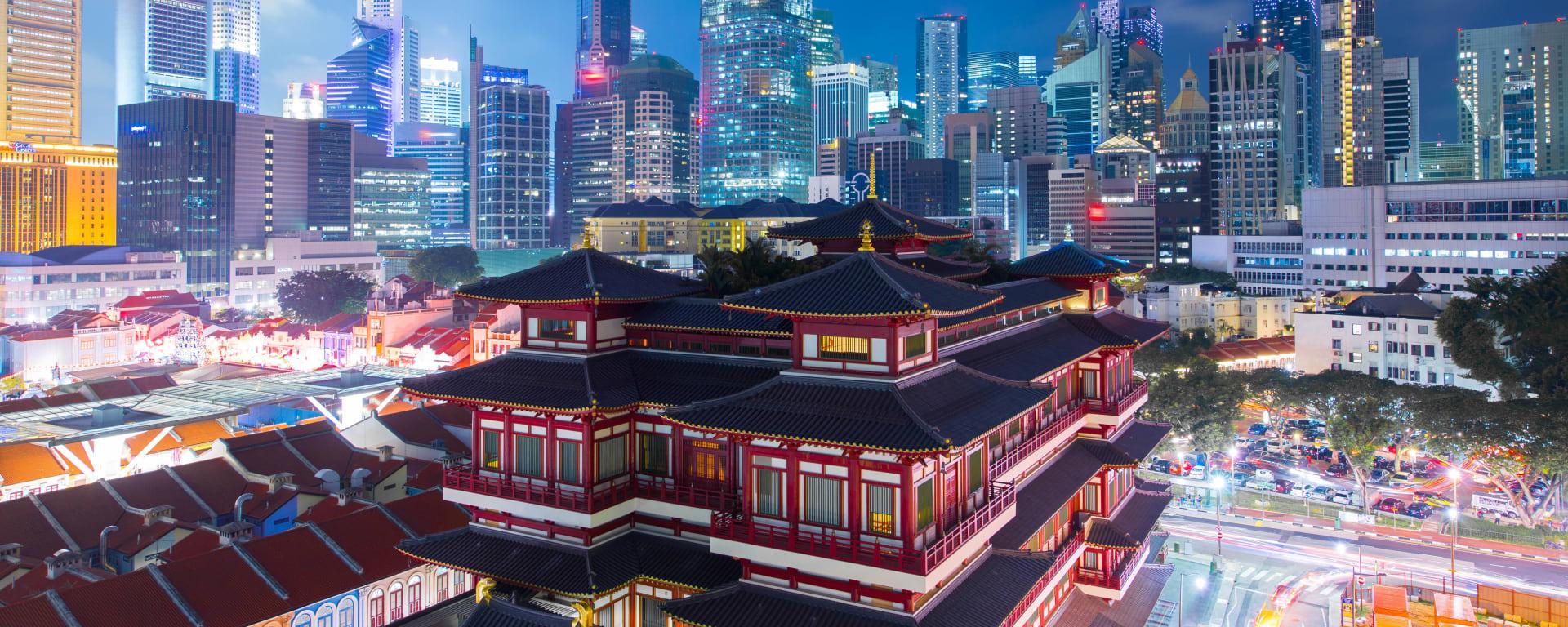 Singapur entdecken mit Tischler Reisen: Singapur Chinatown Tempel