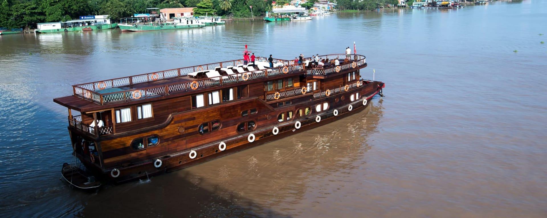 Mekong Eyes Cruises, ab/bis Saigon: Vietnam Mekong Eyes