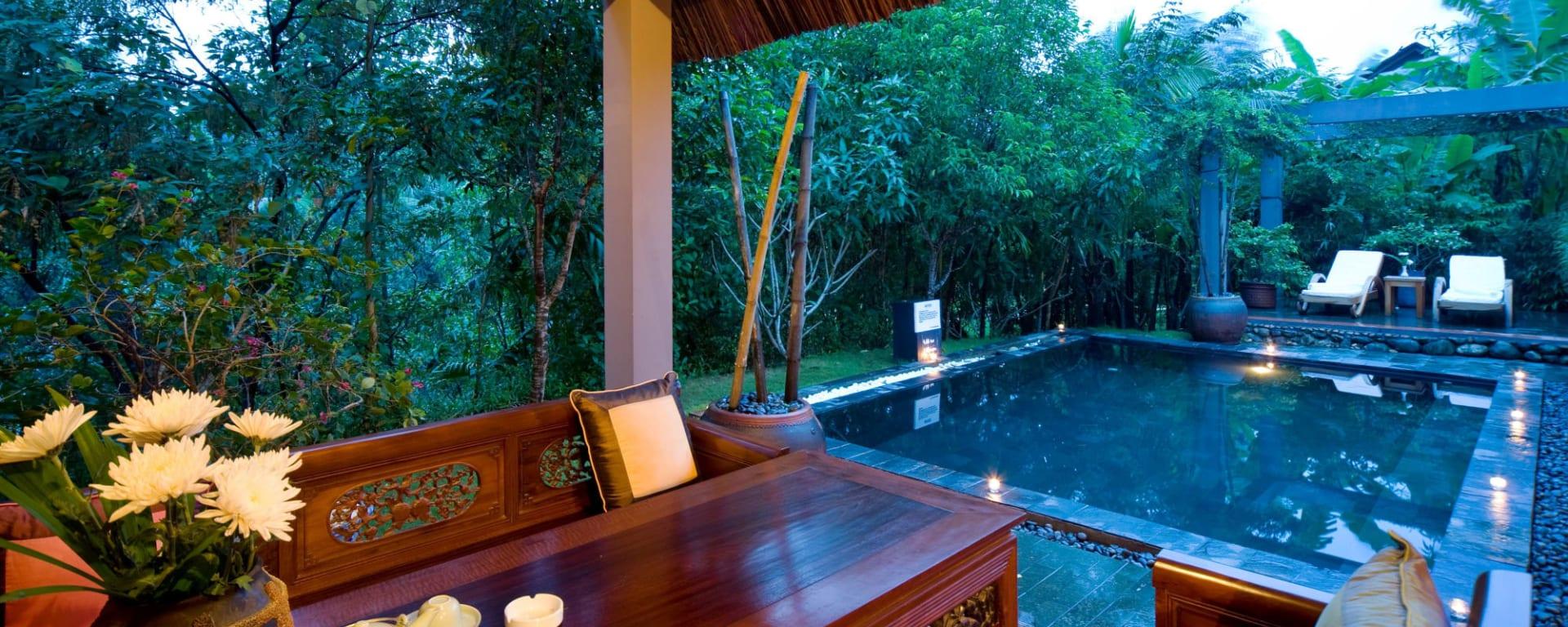 Pilgrimage Village in Hue: Vietnam Pilgrimage Village Pool House