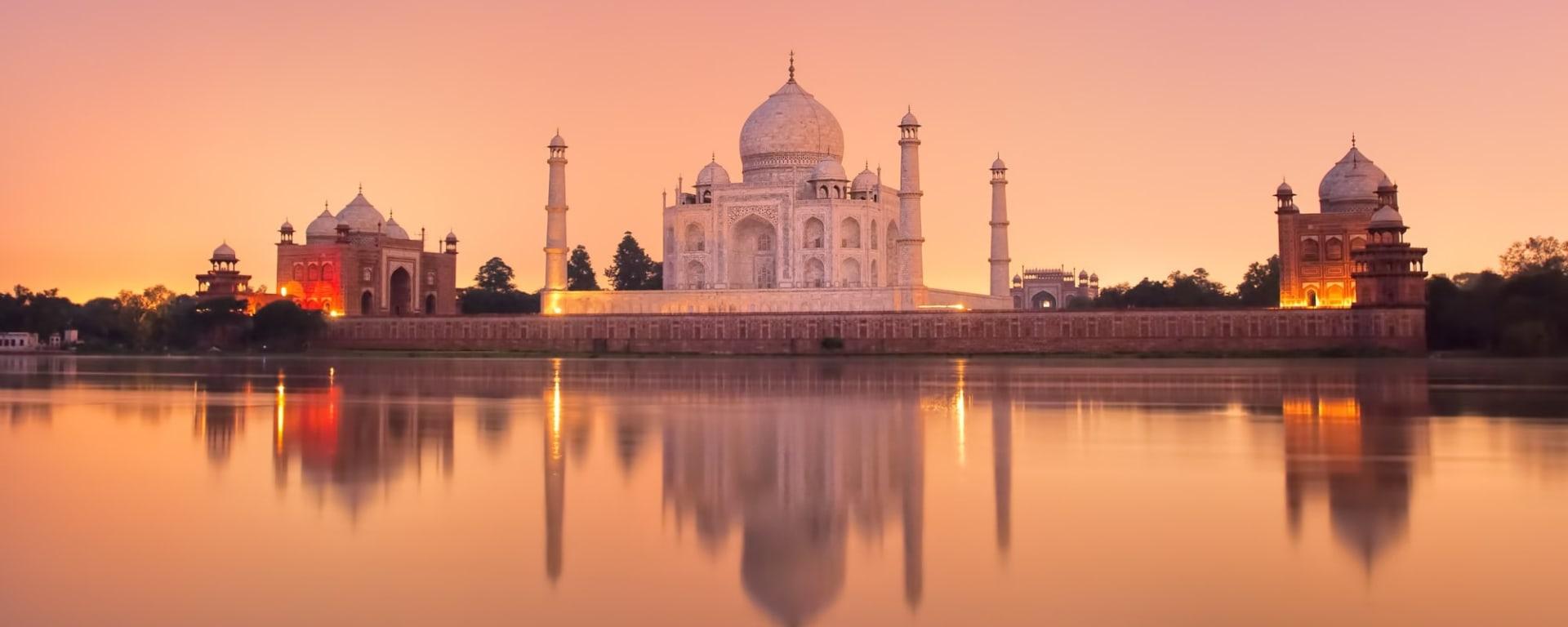 Indien entdecken mit Tischler Reisen: Indien Agra Taj Mahal