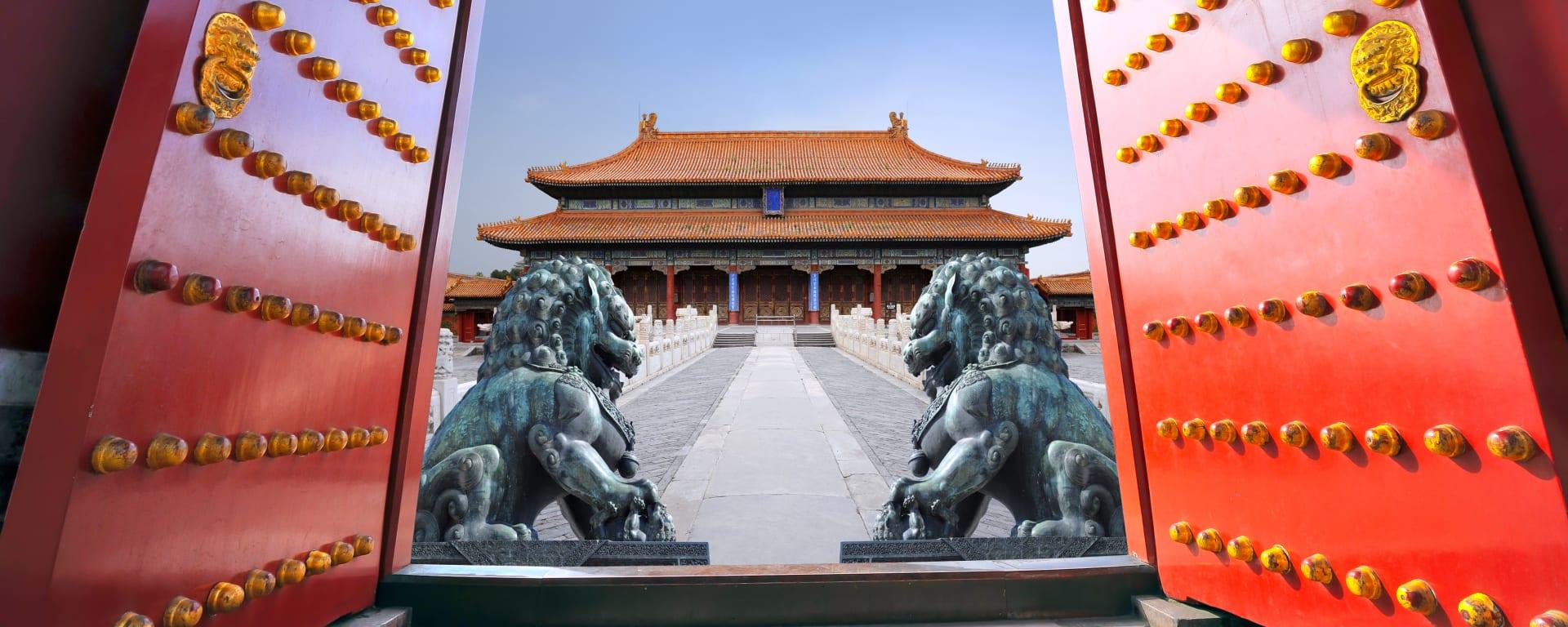 China entdecken mit Tischler Reisen: China Peking Verbotene Stadt