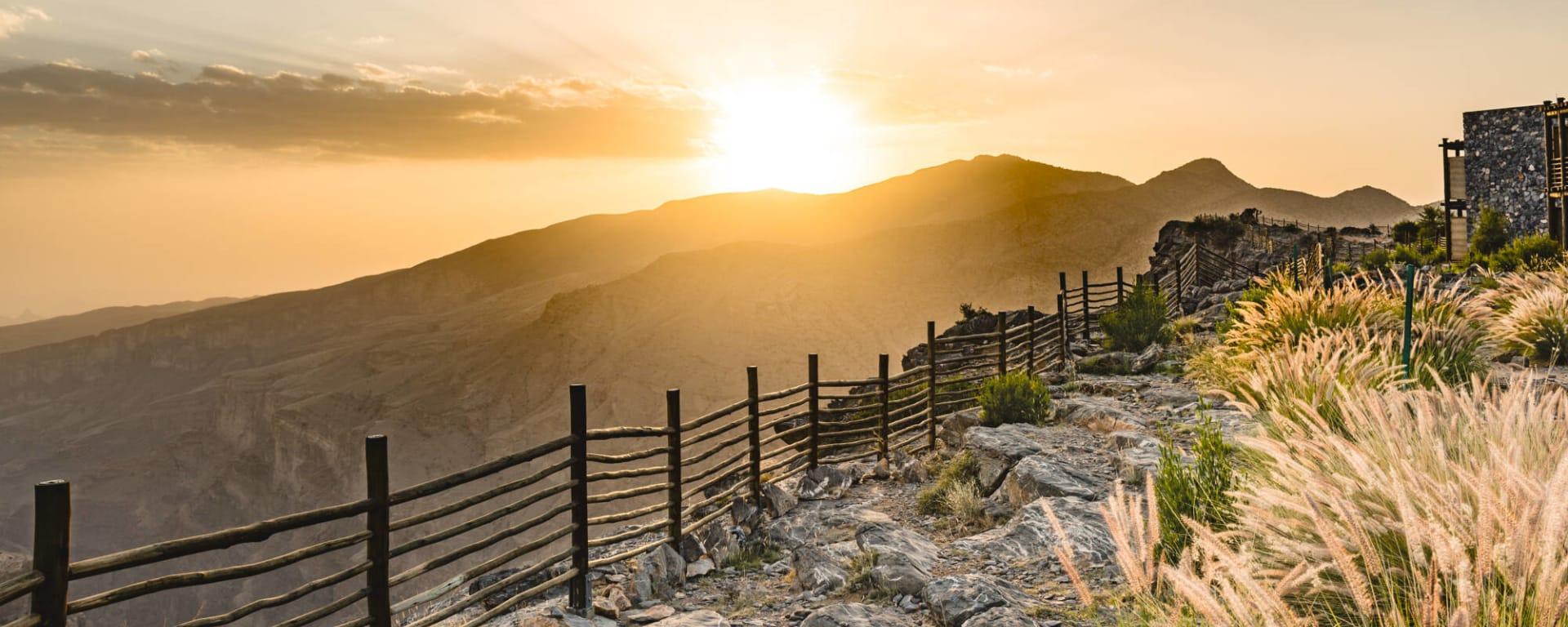 Oman entdecken mit Tischler Reisen: Oman Hajjar-Gebirge