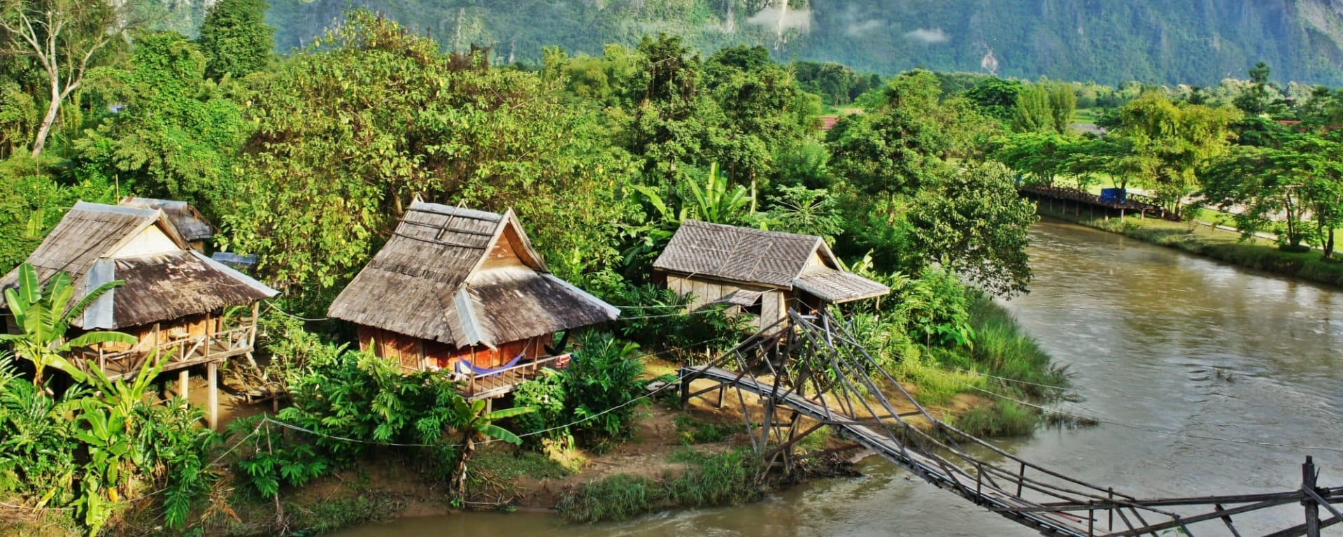 Überland von Luang Prabang nach Vientiane: Laos Vang Vieng