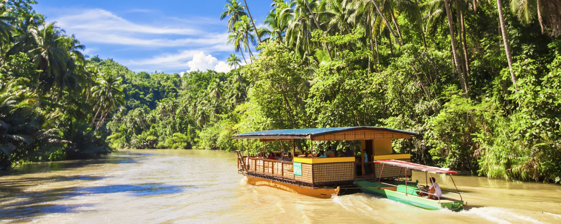 Faszination Bohol, EN, Ganztägig: Philippinen Bohol Loboc River