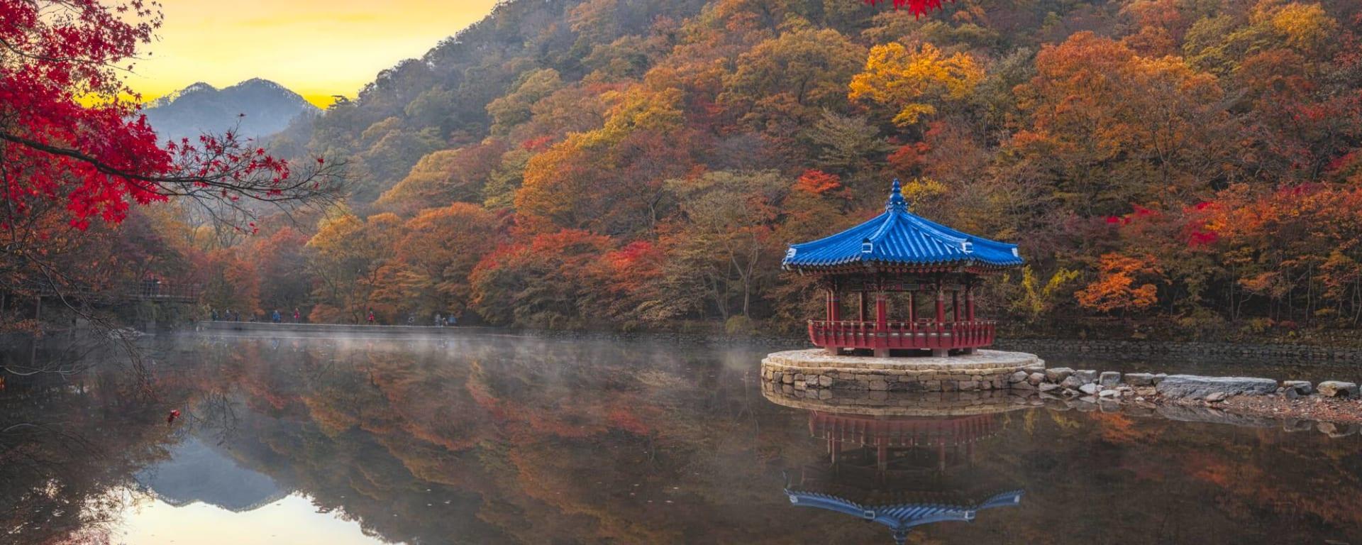 Südkorea entdecken mit Tischler Reisen: Korea Seoraksan Nationalpark