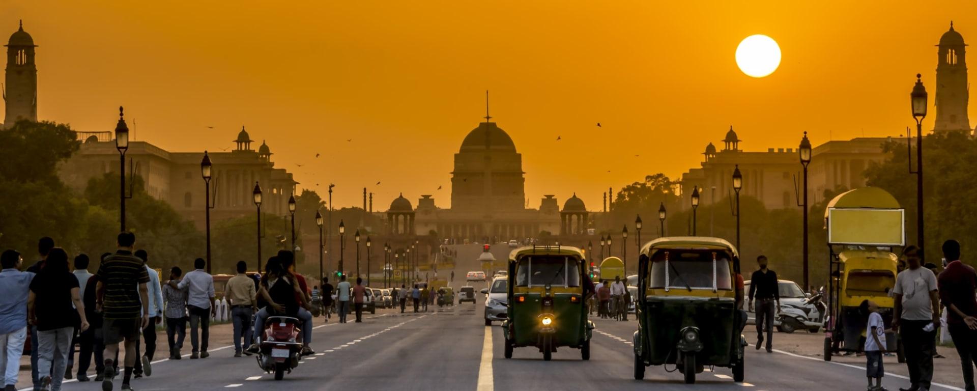 Indien entdecken mit Tischler Reisen: Indien Delhi Presidential District