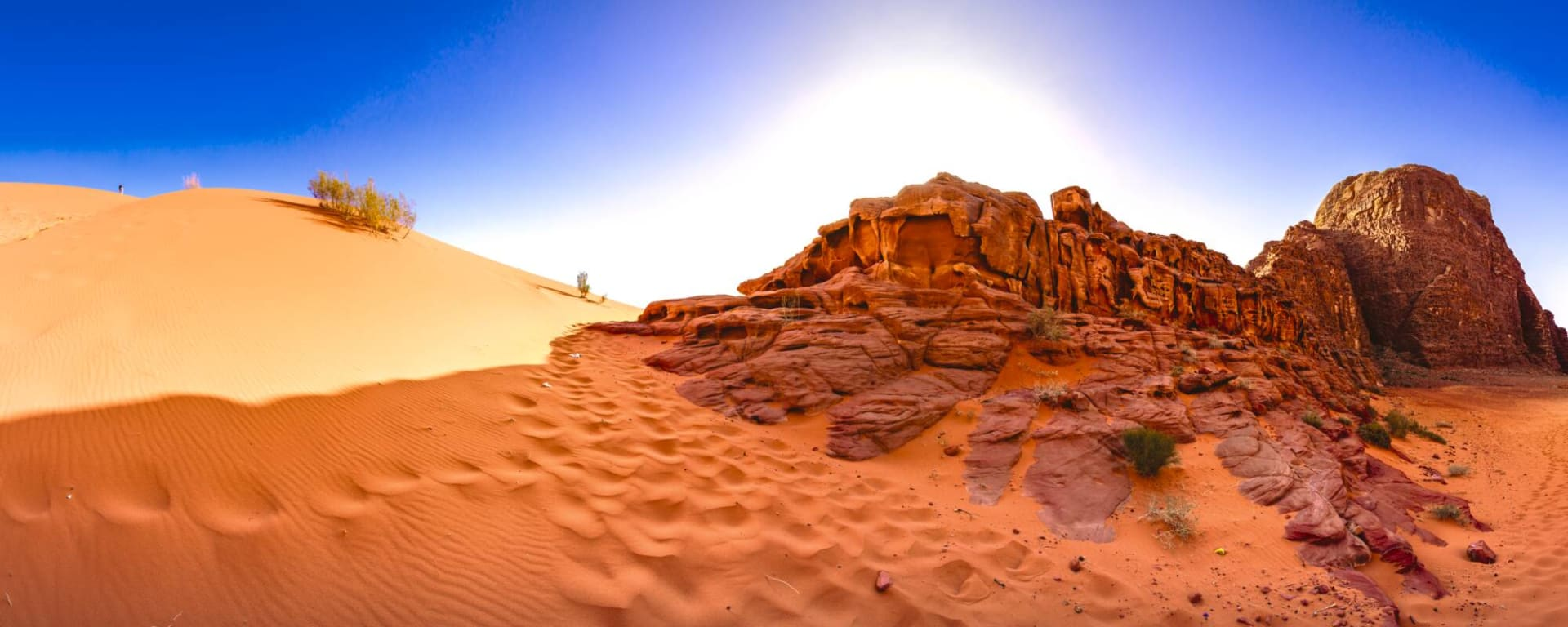 Jordanien entdecken mit Tischler Reisen: Jordanien Wadi Rum Wueste