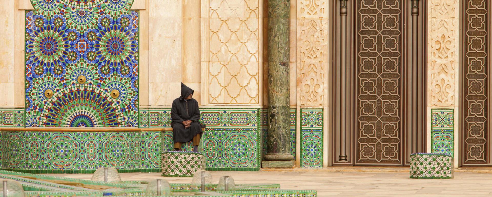 Höhepunkte Marokkos ab Casablanca: Casablanca Hassan II Moschee