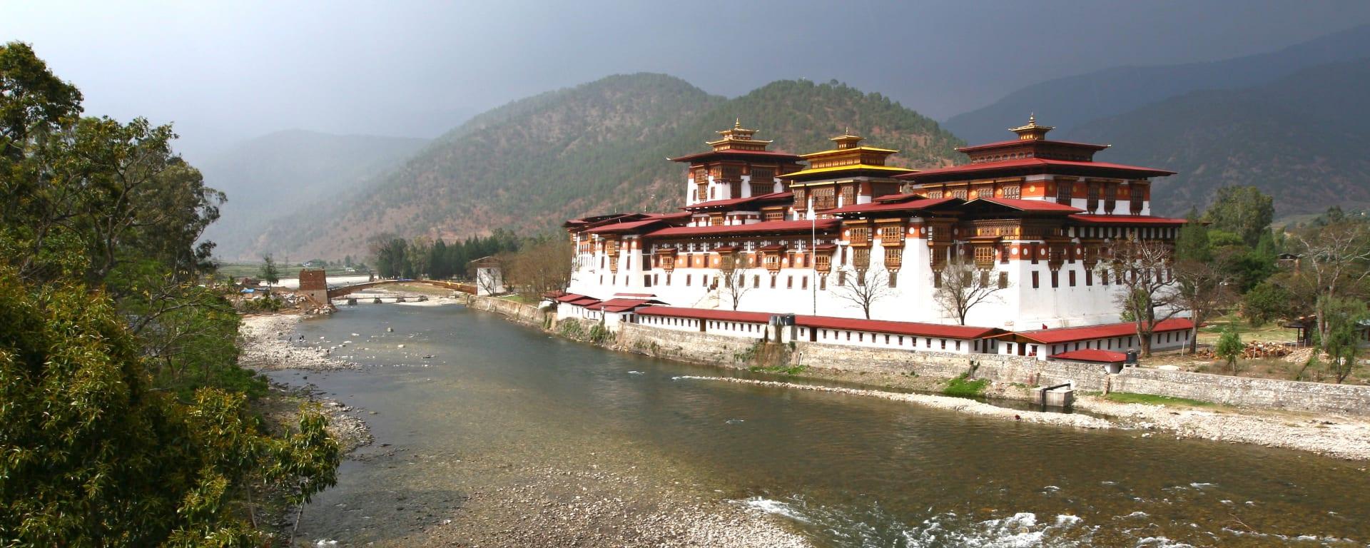 Bhutan entdecken mit Tischler Reisen: Bhutan Punakha Dzong