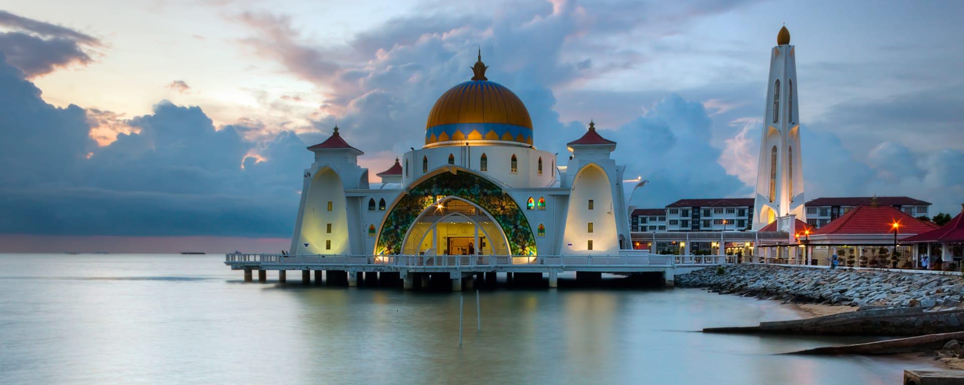 Malaysia entdecken mit Tischler Reisen: Malaysia Malakka Moschee