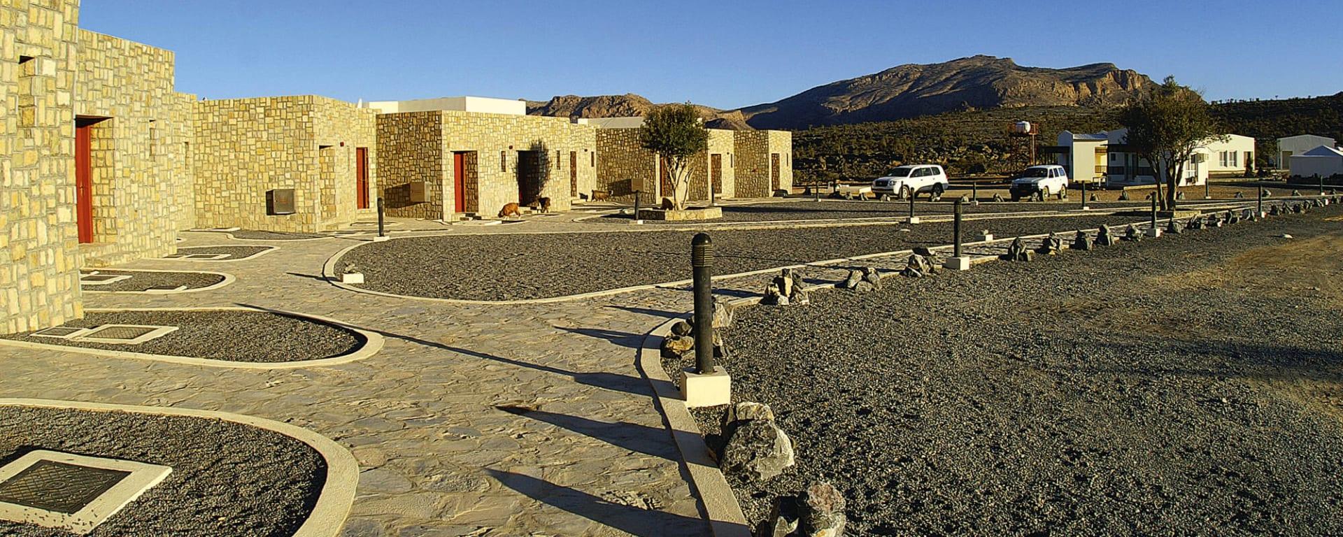 Jebel Shams Resort in Gebirge: Oman Jebel Shams Resort