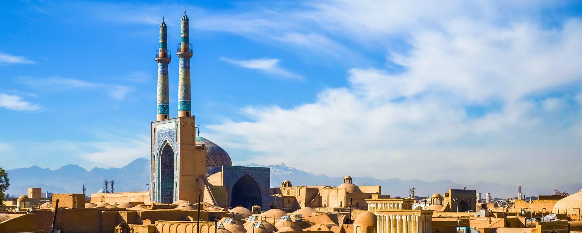 Iran entdecken mit Tischler Reisen: Iran Yazd Historisches Zentrum