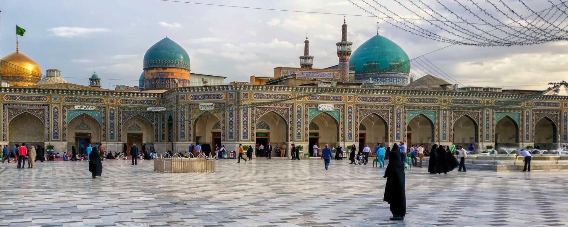 Iran entdecken mit Tischler Reisen: Iran Mashad Haram e Razavi Komplex
