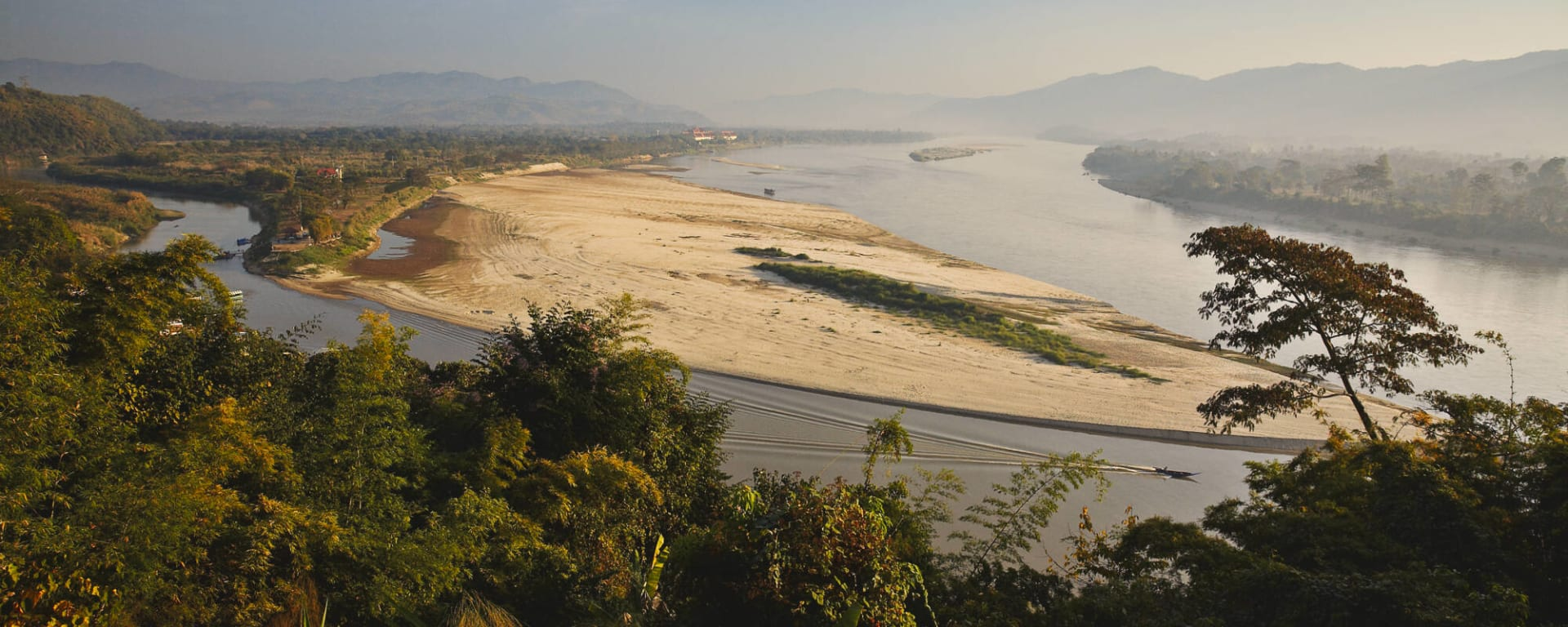 Von Nord-Thailand nach Laos auf dem Mekong ab Chiang Mai: Thailand Nordthailand Mekong Goldenes Dreieck