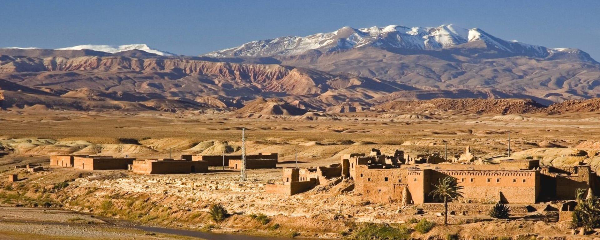 Südmarokko - Atlas & Wüste ab Marrakesch: Ksar zwischen Ouarzazate und Ait Benhaddou