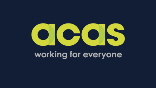 Working Side by Side with Acas - Case Study