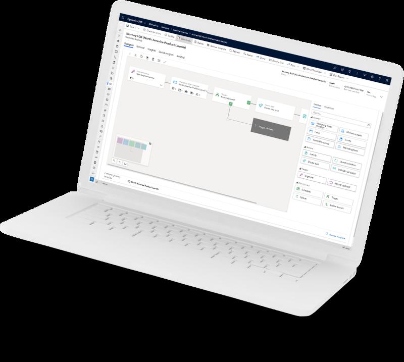 Marketing laptop image