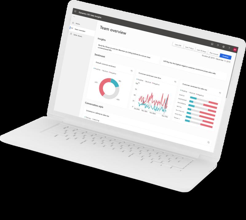 Sales laptop image