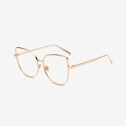 RENO Alloy Cat-Eye Frames | Titanium Optix