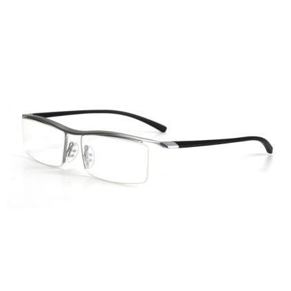 semi rimless titanium eyeglasses frames