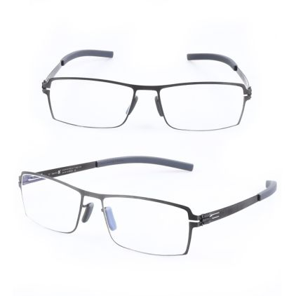 metal clip-on eyeglasses frames polarized lenses