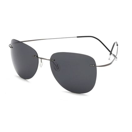 titanium memory metal polarized sunglasses