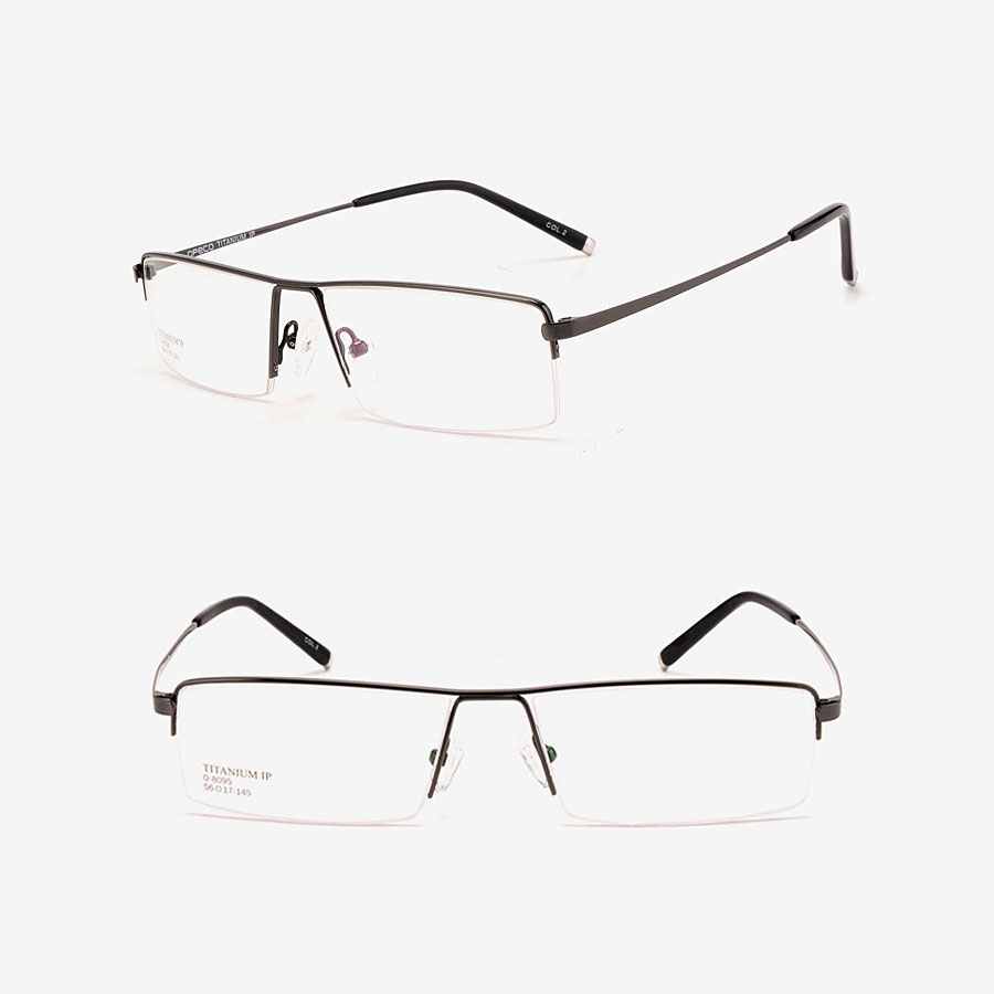 STOCKTON Semi Rimless Titanium Frames | Titanium Optix