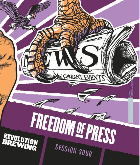 New beer release: Revolution Freedom of Press