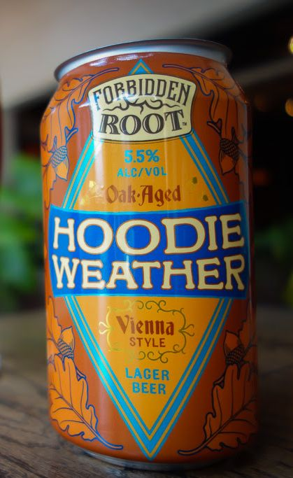 New beer release: Forbidden Root Hoodie Weather
