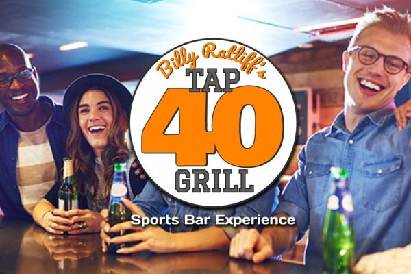 Tap 40 Grill Coupons and Deals